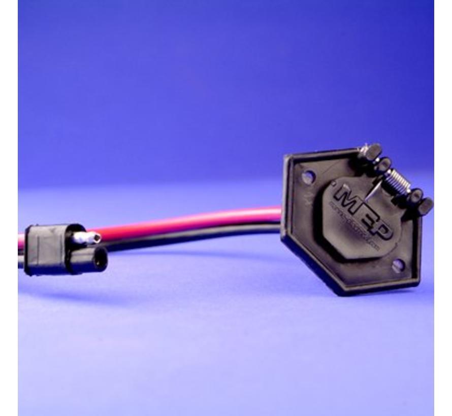 Trollingmotor recept, 2 wire 12V 24V 36V