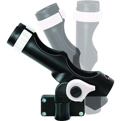 Fish-On! BLK Rod Holder incl side mount 2 in pack