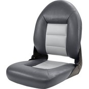 Tempress Navi Style ™ High Back Chair Boot-Charcoal / Grau