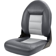 Tempress Navistyle™ High Back Boat Seat Charcoal/Gray
