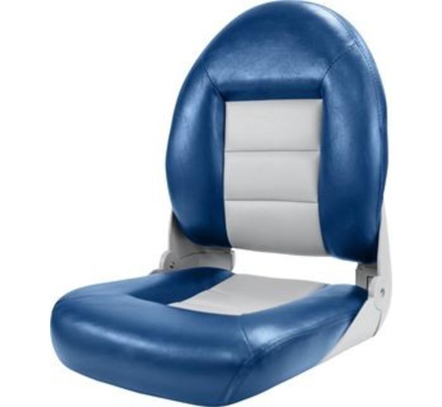 Navistyle ™ High Back Boat seat Blue / Gray