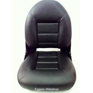Tempress Seat Navi ™ style High Back Boat All Black