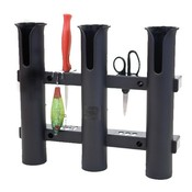 Fish-On! Fish-On! Triple Tube Rod Holder Black