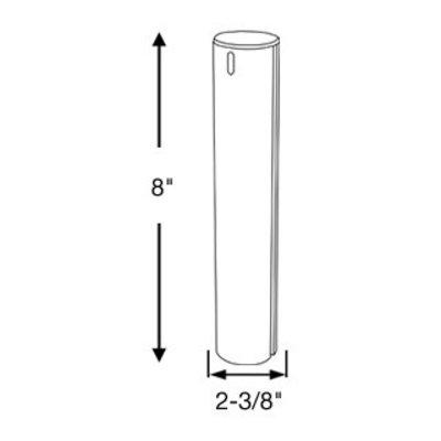 "Springfield Plug In Locking Post 08"" 2-3/8"" (6 cm)"