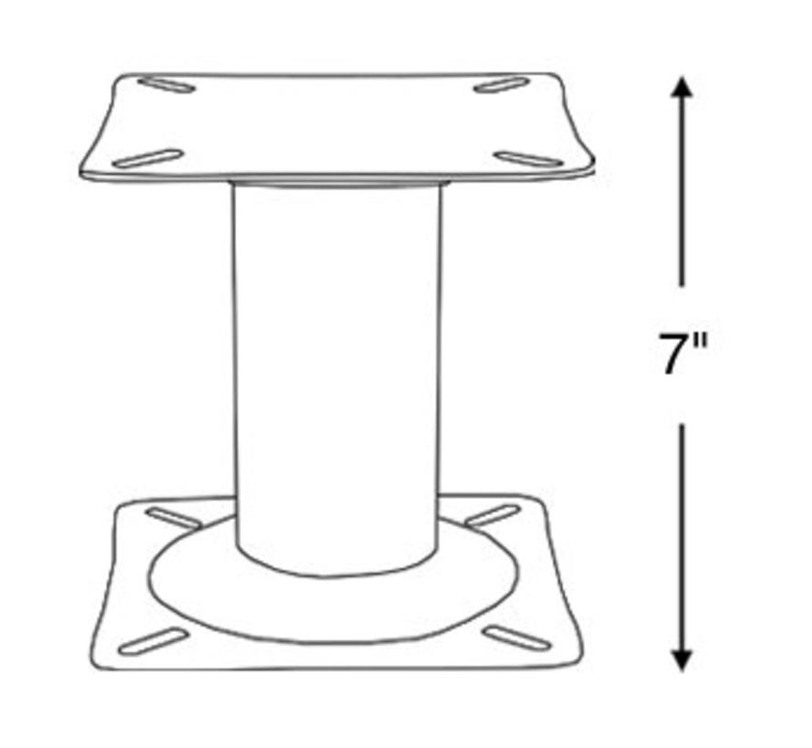Boot seat leg 17.5 cm high