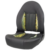Tempress ProBax® High back boat chair Charcoal / DeYoung