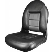 Tempress Navi Style ™ Hög Back Boat Seat Black / Wave Rocket