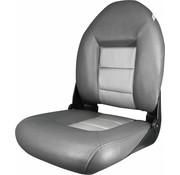 Tempress Navistyle ™ High Back Boat seat Charcoal / Silver