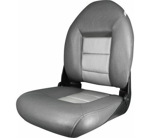 Tempress Navi Style ™ Hög Back Boat Seat Charcoal / Silver
