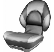 Tempress High Back Boat Seat Tempress® Centric ™ II Charcoal / Liquid Wave Silver