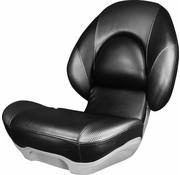 Tempress Hoge rug bootstoel Tempress® Centric™ II Zwart / Wave Rocket