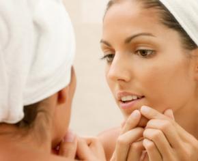 behandeling vette huid