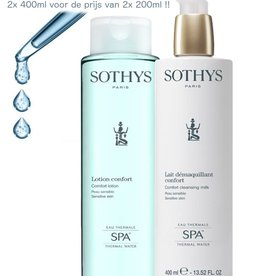 Sothys Promo Duo Confort SPA 2x400 ml