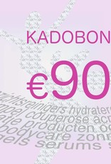 Kadobon 90 euro
