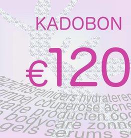 Kadobon 120 euro