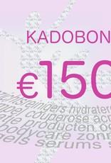 Kadobon 150 euro