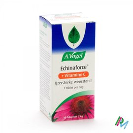 A. Vogel Vogel Echinaforce + Vit C Pot Tabl 1x45