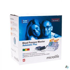 Microlife Microlife Bpa100 Plus Tensiometre Brassard Mam/pad