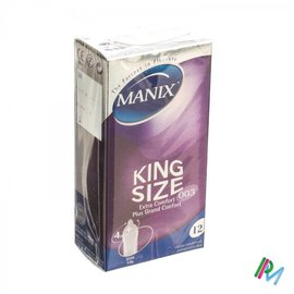 MANIX Manix King Size Condomen 12