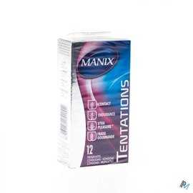MANIX MANIX TENTATIONS PRESERVATIFS 12 (MIX)