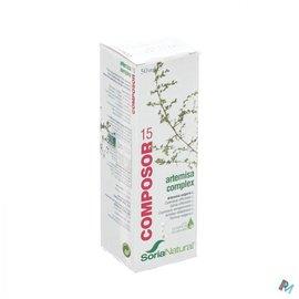 SORIA SORIA COMPOSOR N15 ARTEMISIA CPLX/MENSTRUSOR  50ML