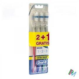 Oral B Oral B Brosse 1-2-3 Indicator 35m (2+1)