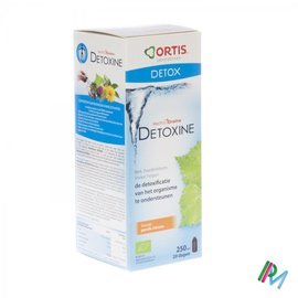 ORTIS Ortis Methoddraine Detoxine Perz.-citroen Bio250ml