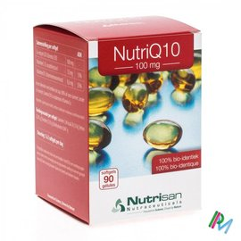 NUTRISAN Nutri Q10 100mg Nf 90 Softgels  Nutrisan