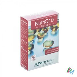 NUTRISAN NUTRI Q10 100MG        SOFTGELS  30       NUTRISAN