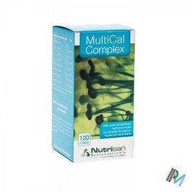 NUTRISAN MULTICAL COMPLEX       POT CAPS 120       NUTRISAN