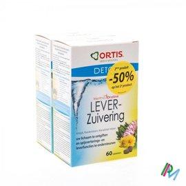 ORTIS ORTIS METHODDRAINE ZUIVEREND LEVER 2X4X15 2DE -50%