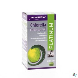 MANNAVITAL Mannavital Chlorella Platinum V-tabl 240