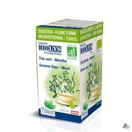 Biolys Biolys Groene Thee-munt Bio Tea-bags 20