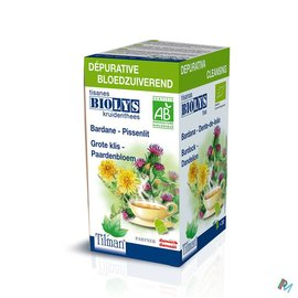 Biolys Biolys Bardane-pissenlit Tisane Tea-bags 20
