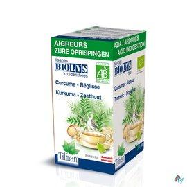 Biolys Kurkuma-zoethout Tea-bags 20