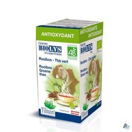 Biolys Biolys Rooibos-groene Thee Tea-bags 20