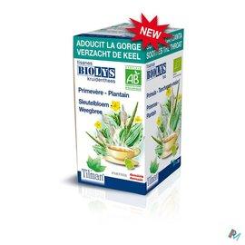 Biolys Biolys Sleutelbloem-weegbree Tea-bags 20