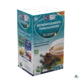Biolys Biolys Aroma+ Refroidissement Tisane Sach 20