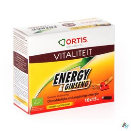 ORTIS Ortis Energy&ginseng Bio S/alc. 10x15ml