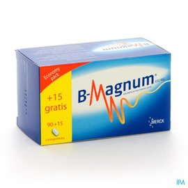 B-magnum 450mg Promopack Tabl 90+15 Gratuit