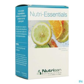 NUTRISAN Nutri-essentials Tabl 60 Nutrisan