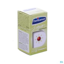 DAVITAMON Davitamon Junior Vit D3 120 Smelttab V1