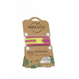 PARAKITO Para'kito Wristband Graffic Ethnic&geom Pink Inca
