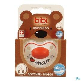 BIBI Bibi Fopspeen Hp I Love Mama 2015 0-6m