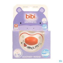 BIBI Bibi Sucette Hp Dental I Love Mama 6-16m