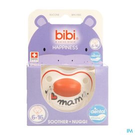 BIBI Bibi Sucette Hp I Love Mama 6-16m