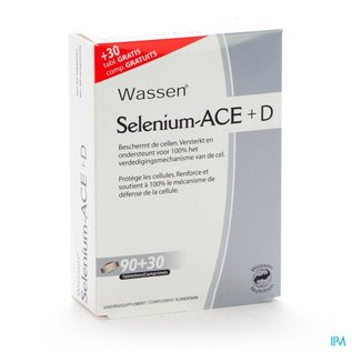 SELENIUM ACE + D 120 TABL (90+30 GRATIS)