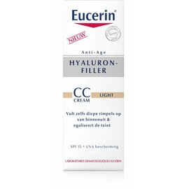 EUCERIN Eucerin Hyaluron Filler Cc Creme Light 50ml