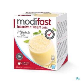 MODIFAST Modifast Intensive Milkshake Vanille Zakje 9