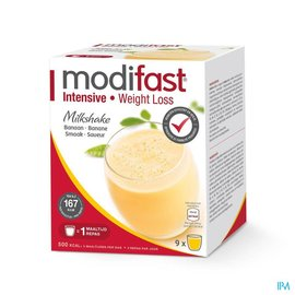 MODIFAST Modifast Milkshake Banane Sach 9